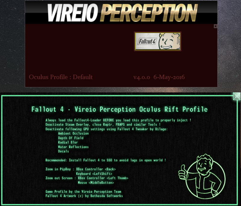 Vireio Perception