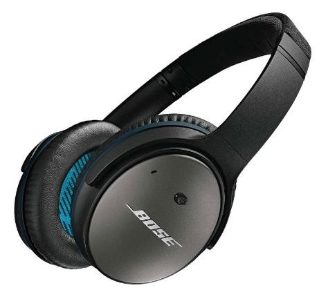 Bose Quiet Comfort 25 noise cancelling headphones