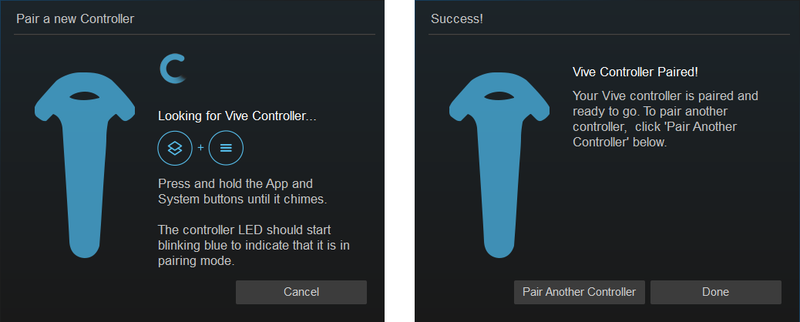 How to pair your HTC Vive controllers | VRHeads