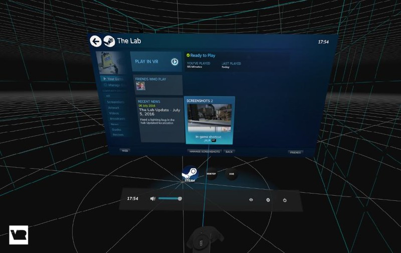 How to take screenshots in the HTC Vive using SteamVR | VRHeads