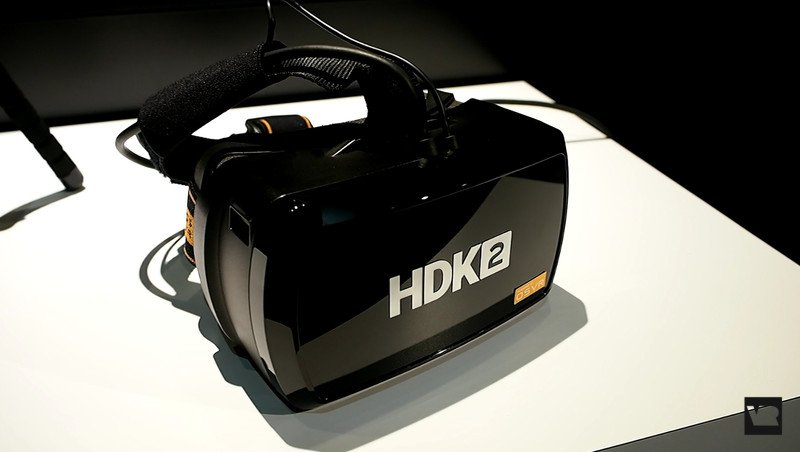 Hands on with OpenSource VR's HDK2 headset E3 2016
