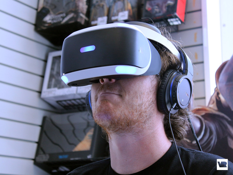 PlayStation VR hands-on: let's see what the console version can do!