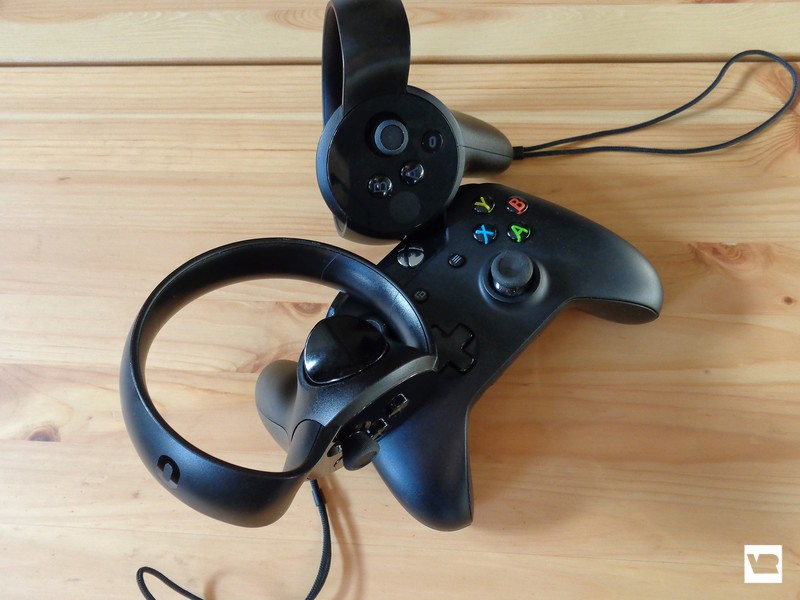 Touch and Xbox controllers