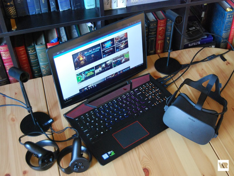 Our thoughts on using a VR-ready laptop exclusively for a week