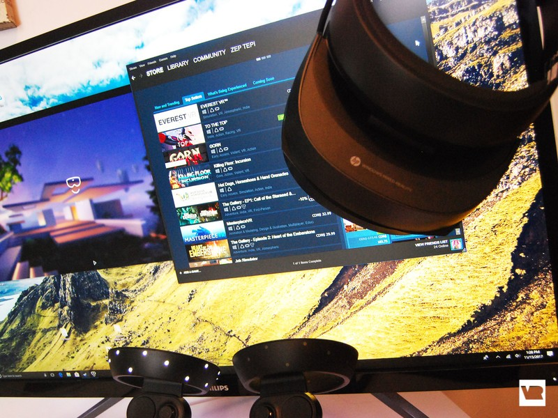 How to fix a SteamVR compositor error in Windows Mixed Reality