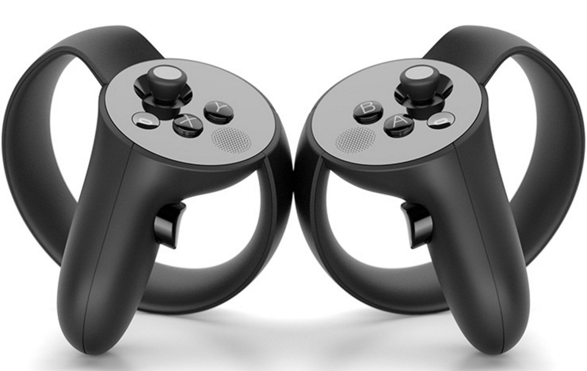 Oculus Touch controllers