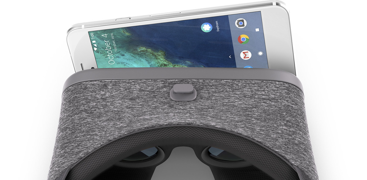 Daydream View and Pixel