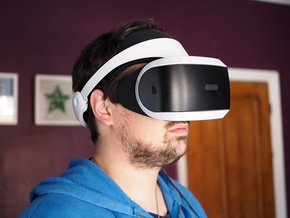 PSVR in all its glory.