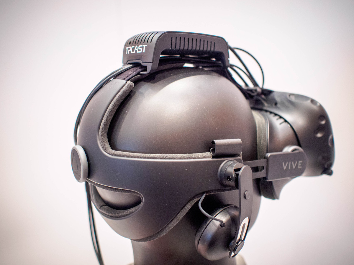 TPCast with the Deluxe Audio Strap