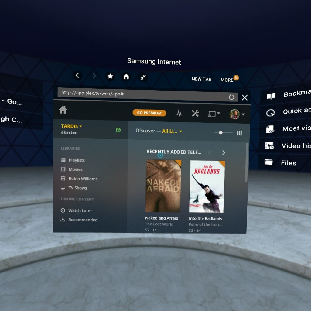how to watch netflix in vr android