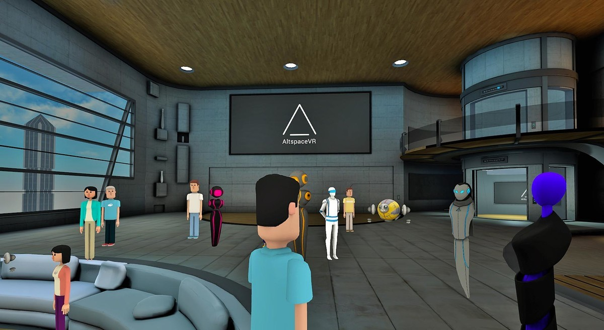 Will we see something like AltspaceVR come to WMR?