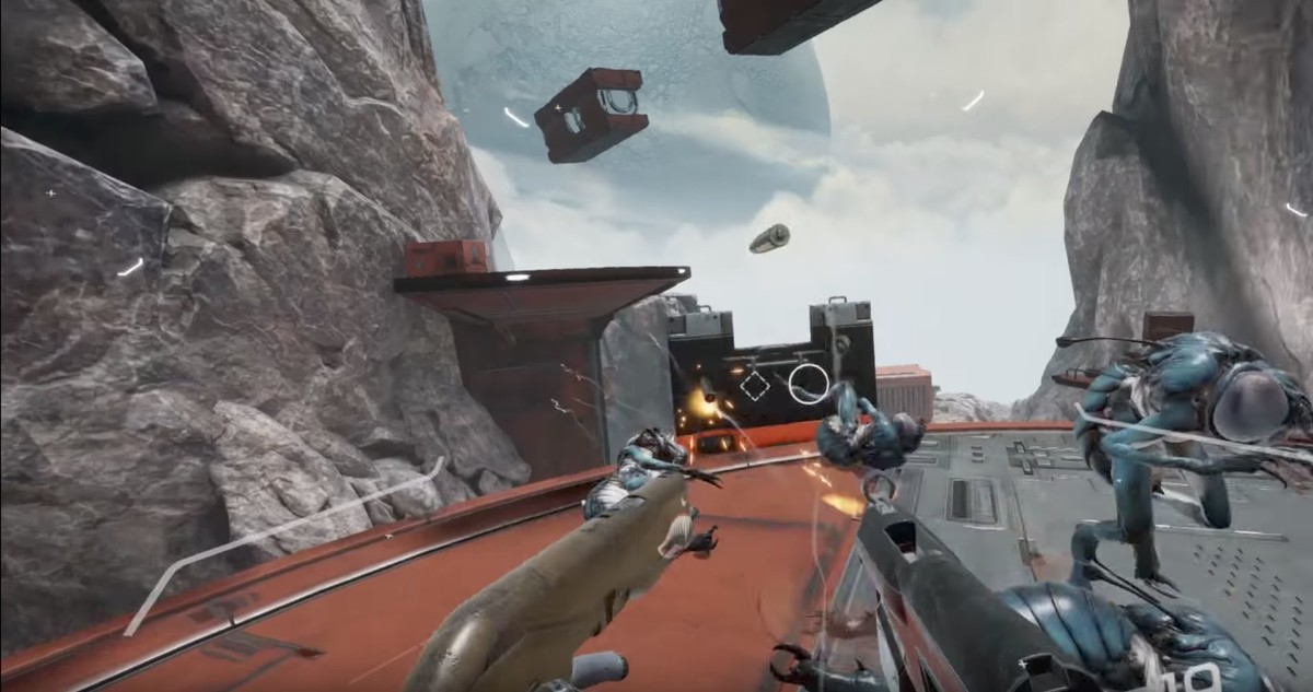 Gunheart doesn't let you aim down the sights of your gun