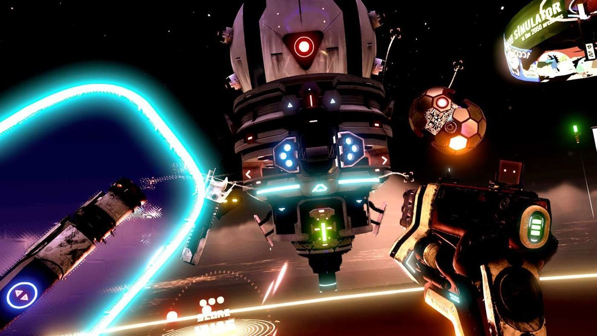Space Pirate Trainer is an excellent FPS.