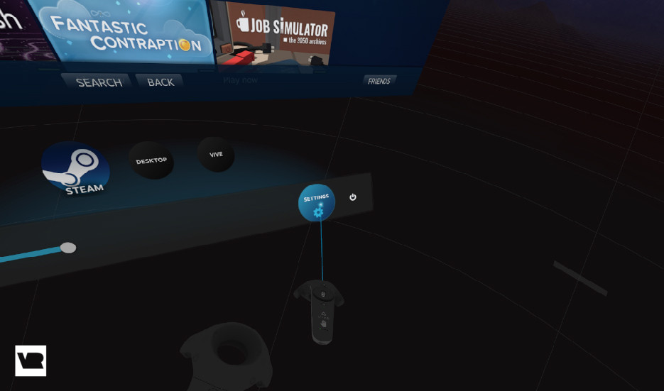 How to set custom backgrounds on the HTC Vive - F3News