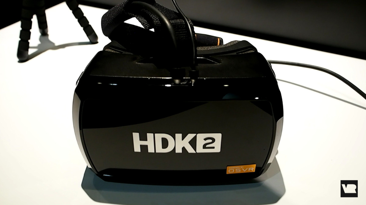 Hands on with OpenSource VR's HDK2 headset E3 2016 Paul Acevedo