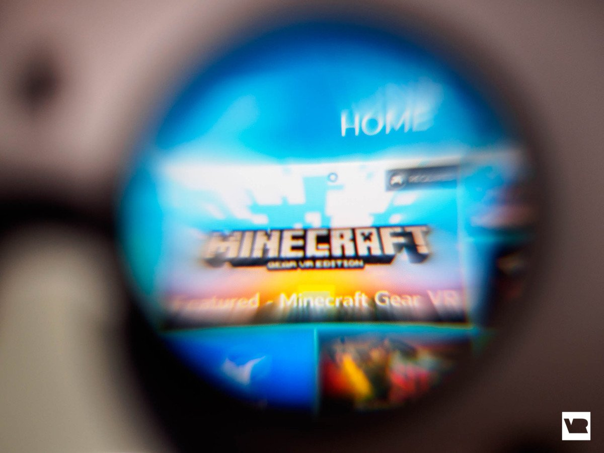 Minecreaft Gear VR