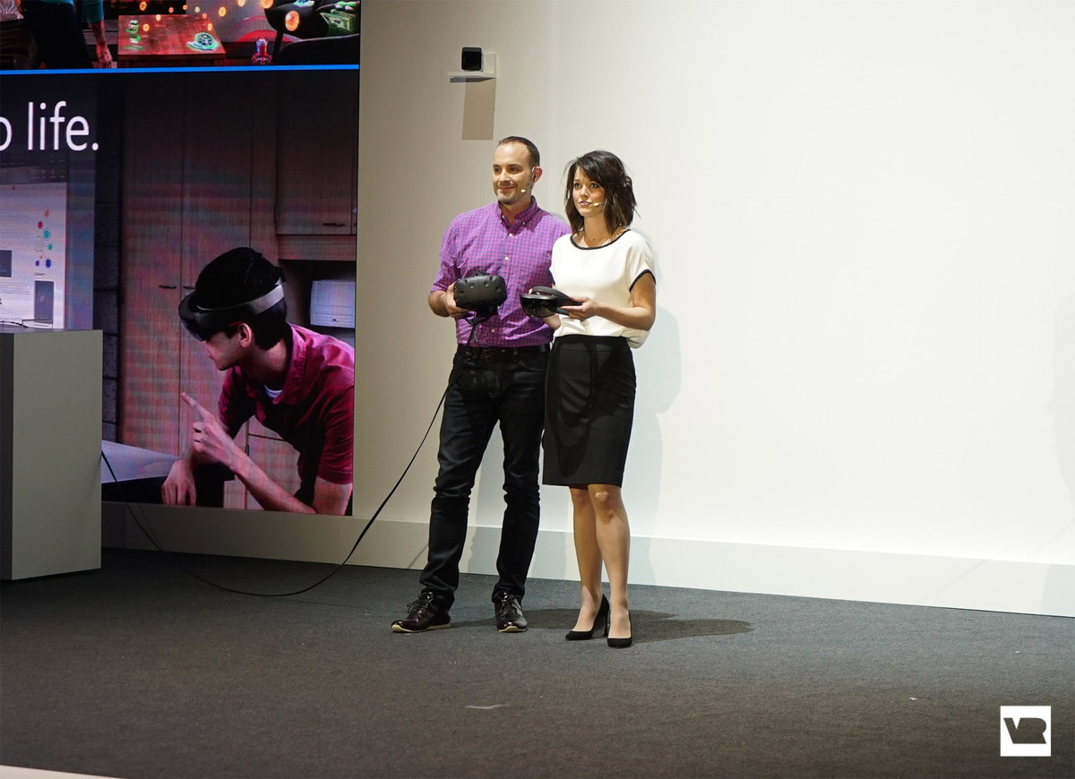 HoloLens and HTC Vive