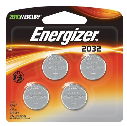 Energizer CR2032 4-pack