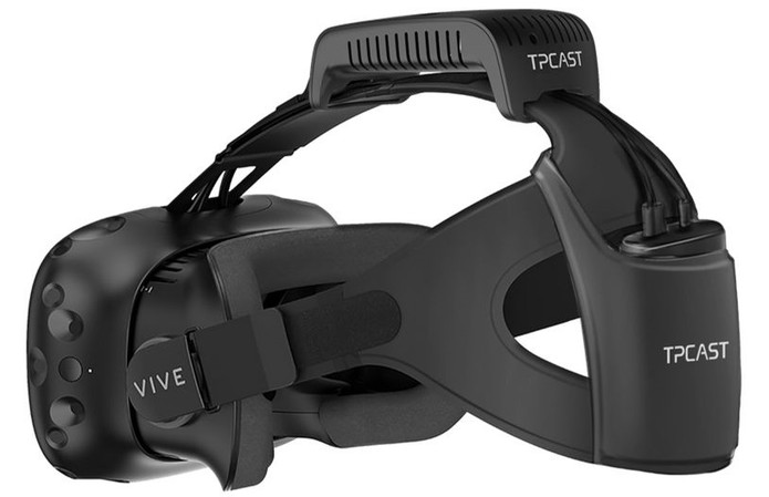 TPCast with the original strap
