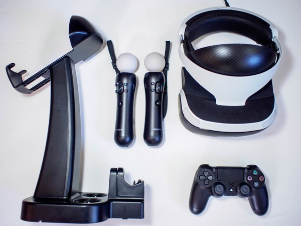 Your PlayStation VR experience is best with a charging dock