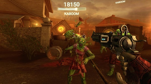 Drop Dead is the golden standard for FPS games on Gear VR