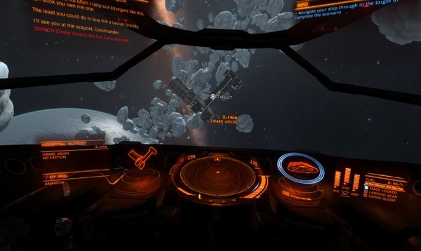 Make Elite: Dangerous look even better in VR with