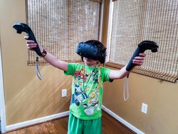 These HTC Vive games are safe for your kids to play