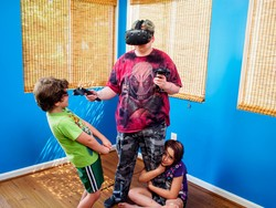 Educate your family on VR etiquette
