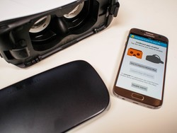 Google Cardboard apps work great on your Gear VR