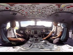 Check out this tour of an Airbus A380 cockpit!