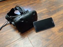 How to pair your phone with the Vive