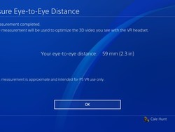 Headache? Blurry image? Set your IPD manually in PlayStation VR