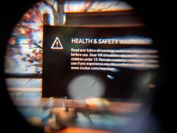Turning off the safety warnings on Gear VR is a breeze