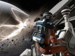 Lone Echo's beautiful graphics are a welcome home for its compelling story