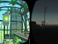 Designing a game for virtual reality is kind of like writing a movie