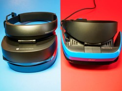 Comparing the Acer and HP Windows Mixed Reality headsets