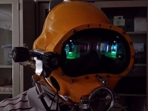 Check out the Navy's augmented reality diver's helmet
