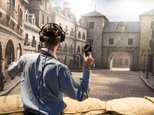 Front Defense brings classic wartime shooting to VR
