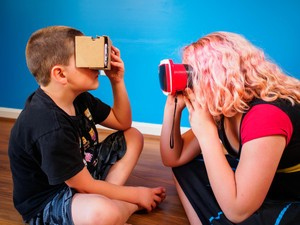 Yes, you kids CAN use VR