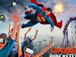 Here are all the VR Rollercoasters you can ride at Six Flags