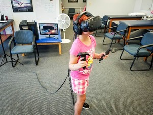 Using an HTC Vive to help with concussions