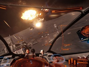 Enabling VR for Elite: Dangerous