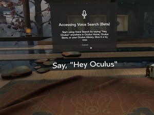 Voice commands are here for Oculus Rift