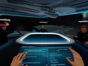 Playing Star Trek: Bridge Crew with friends is an easy affair!