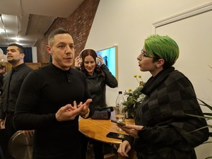 We sat down with Theo Rossi to talk VR