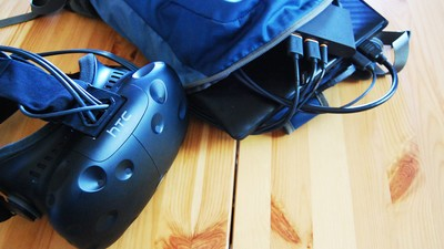 The pros and cons of building your own VR backpack