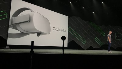 Oculus announces Oculus Go, a standalone VR headset between mobile and PC