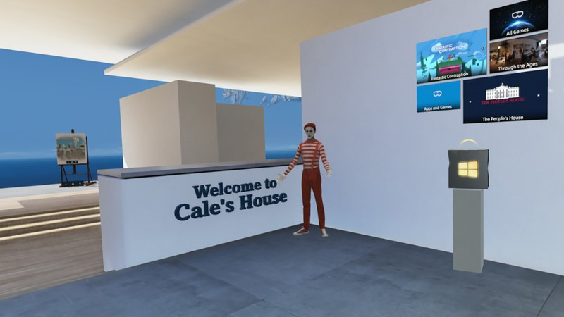 How to personalize the Windows Mixed Reality Cliff House