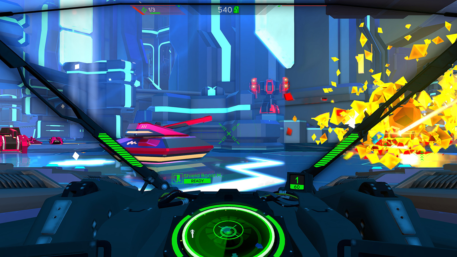 Battlezone plus HOTAS equals awesome.
