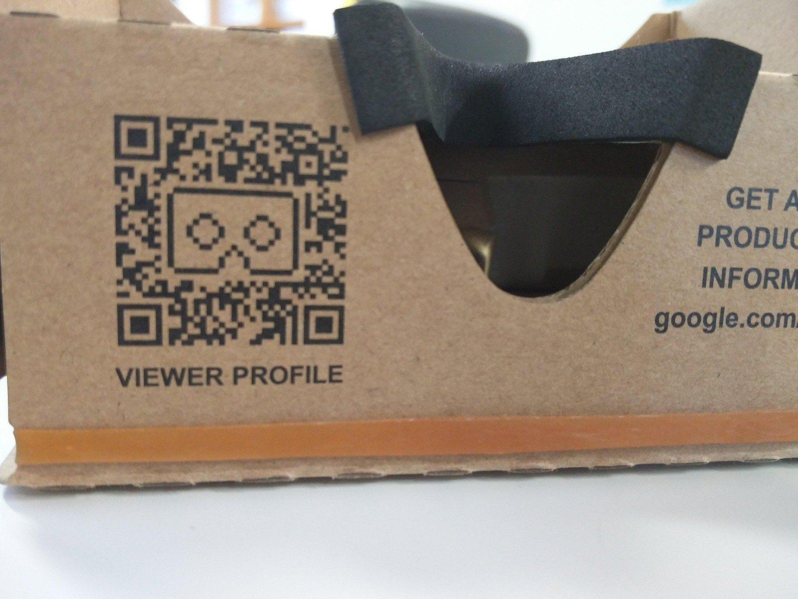 You're ready to go! To try it out for the first time, load the Cardboard app onto your phone. You'll be prompted to scan the viewer profile QR code on your viewer.